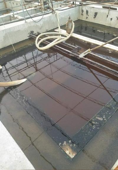 北京最终出水(二沉池)污水处理