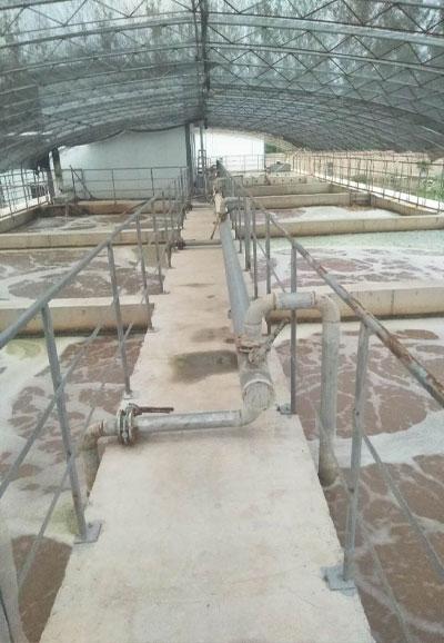 北京污水处理曝气池